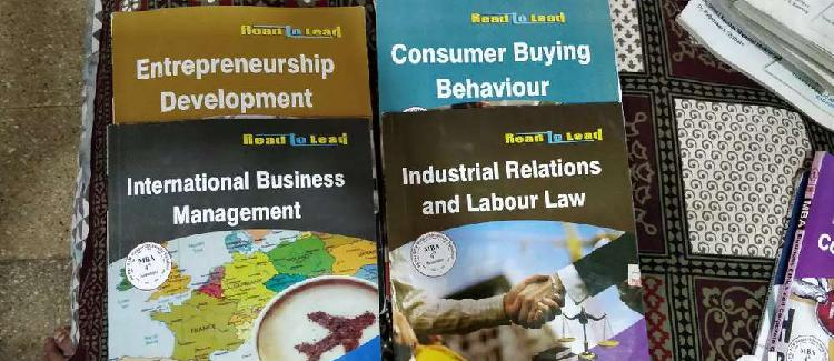 Mba 3rd semester)and (mba 4th semester) books available