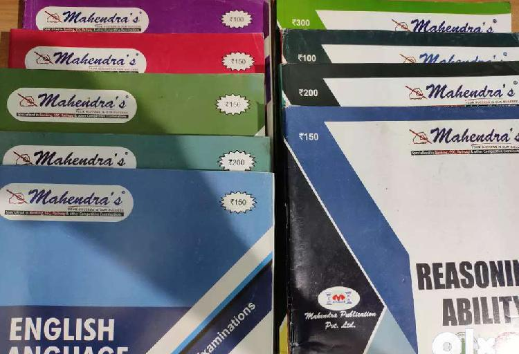 Mahendras banking and ssc books
