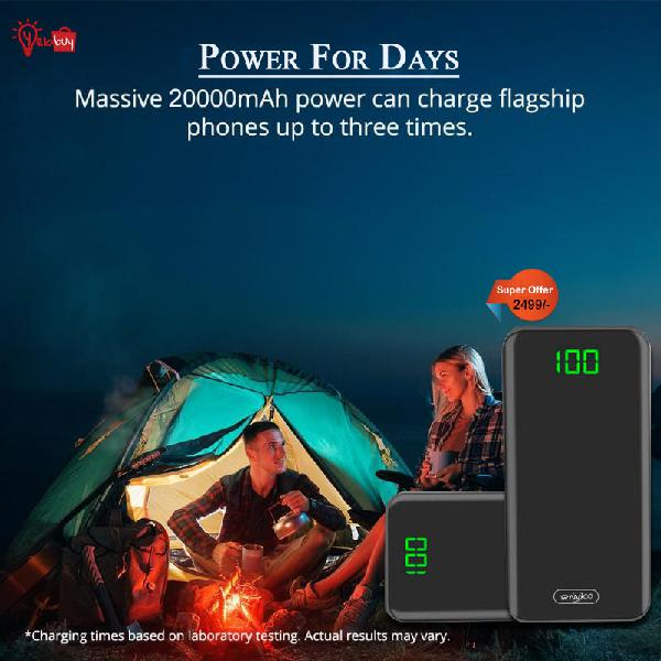 Portable power bank buy power bank at very reasonable pric