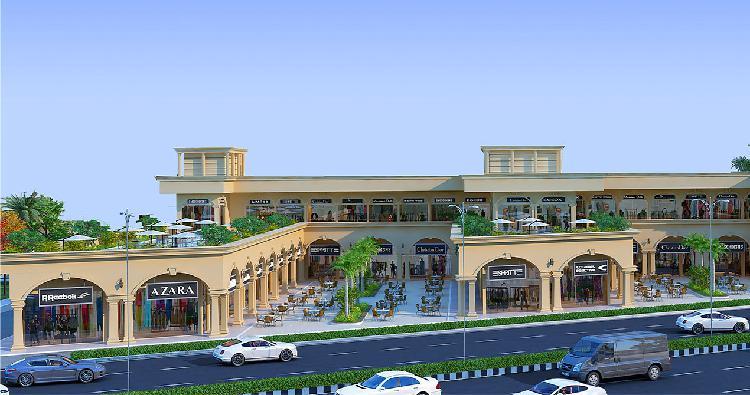 The bazaar sector 93 gurugram retails shops for lease