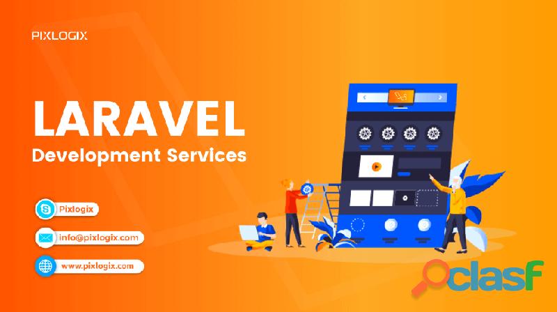 Laravel development company in india
