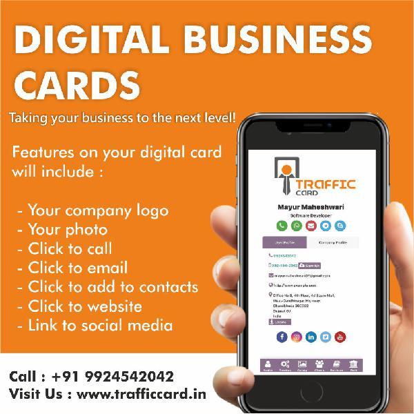 Digital business card with this unique platform