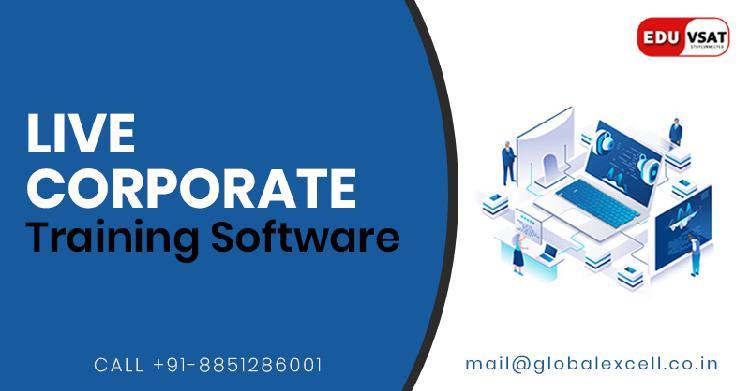 Eduvsat live corporate training software in india