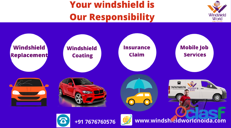 Trusted Car services with Windshield World | Windshield World in Noida