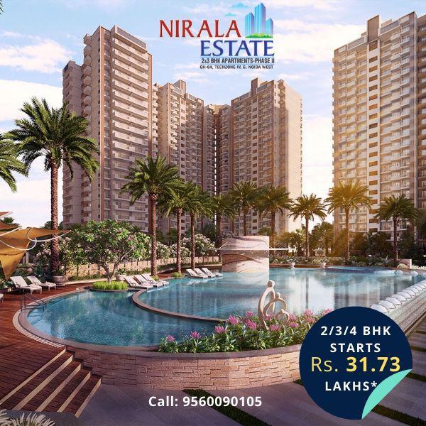 Buy flat in nirala estate greater noida west 9560090105