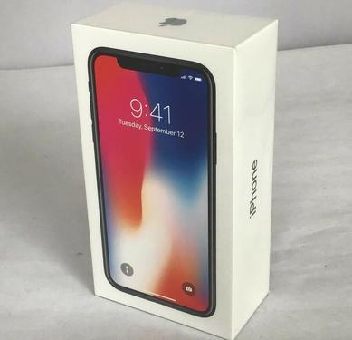 New sealed original unlocked iphone x 256gb available only