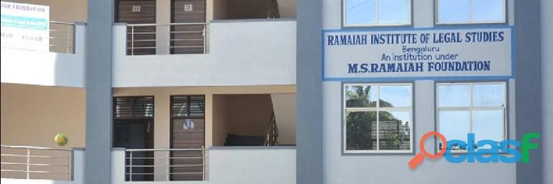 Ramaiah institute of legal studies ranking