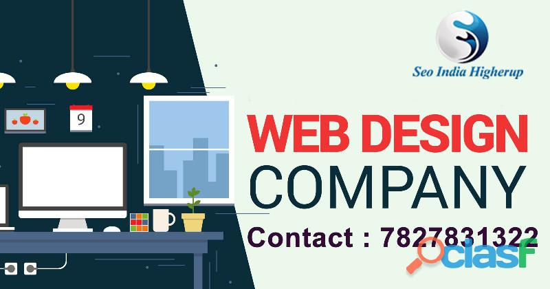 Web designing company in delhi – (+91) 7827831322 – seo india higherup