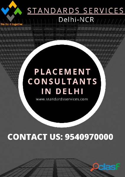 Placement consultants in delhi (9540970000)    standards services