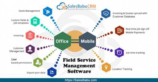Salesbabu online service crm software - computer services