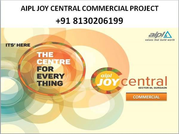 91 8130206199 - aipl commercial project sector 65, aipl