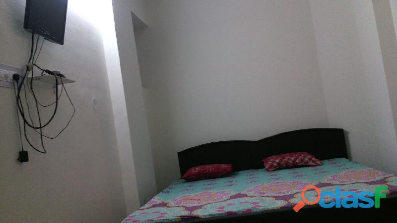 1 Bed room PATNA BORING ROAD FURNISHED WITH A/C AND FRIDGE