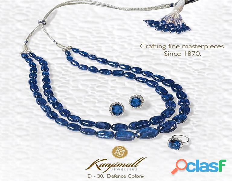 Most beautiful precious jewellery in Delhi
