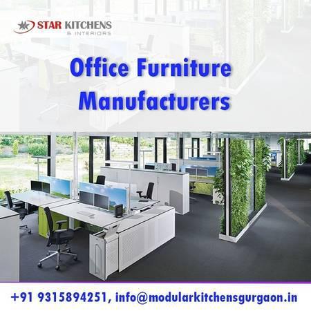 Best modular office furniture manufacturers in gurgaon -