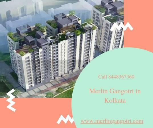 Book merlin gangotri apartments in kolkata - real estate -