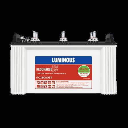 Buy luminous red charge rc 18000st inverter battery online