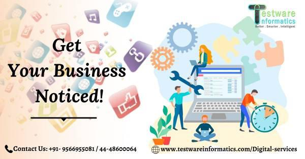 Get your business noticed! - computer services