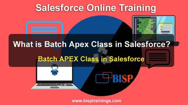 What is batch apex class in salesforce? batch apex class