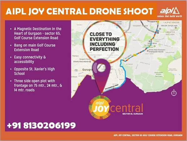 8130206199 - aipl new projects sec 65 gurgaon,aipl joy