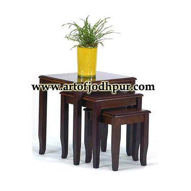 Buy handicrafts jodhpur furniture nest table
