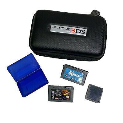 Nintendo ds/gameboy games and case