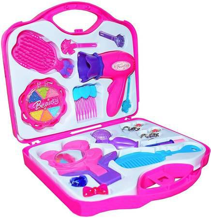 Kids makeup kit for girls - cleos real kids cosmetics beauty