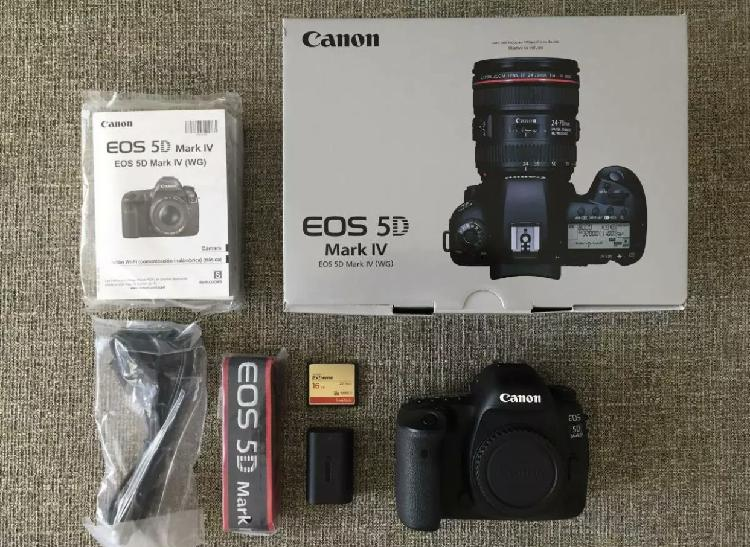 Brand new canon 5d mark iv come with complete accessories fo