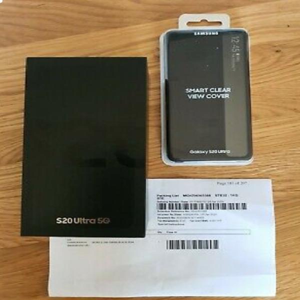 Samsung galaxy s20 ultra 5g smg988b 128gb cosmic black