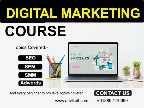 Digital marketing course - lessons & tutoring