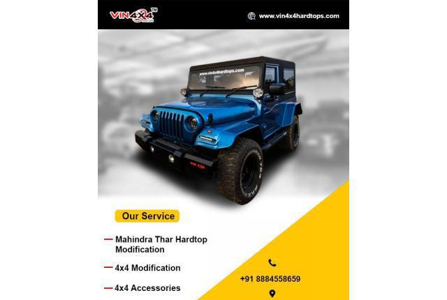 Mahindra thar and 4x4 car modifications in bangalore -