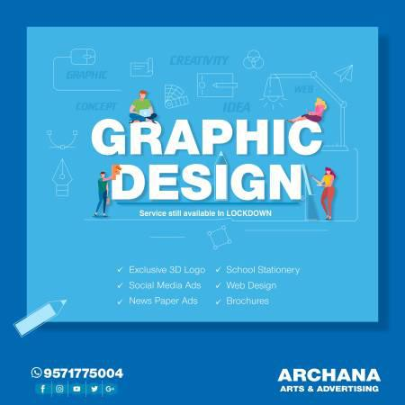 Online creative graphic design services - creative services