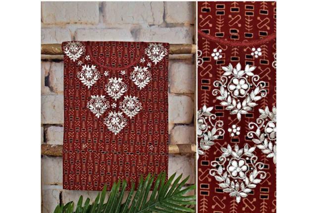 Ajrakh cotton kurti online shopping