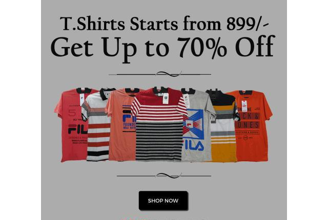 Buy men's t-shirts at discounted prices on hydstores