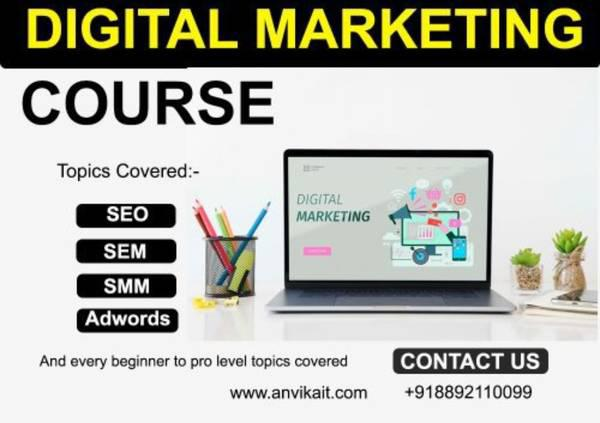 Digital marketing course - computer services