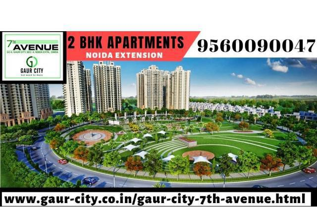 Gaur city 7th avenue, 2 bhk apartments in noida extension,