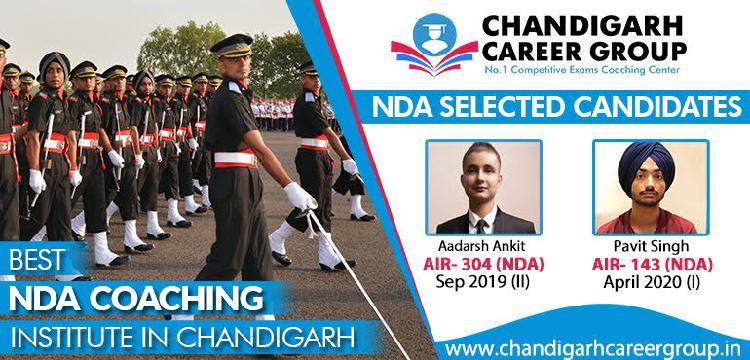 Nda coaching in chandigarh   chandigarh career group