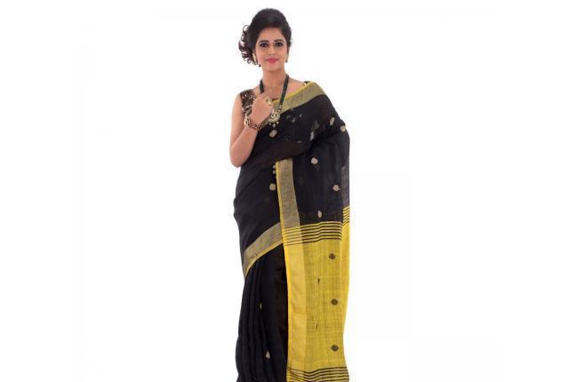 Top-rated linen saree wholesaler in kerala