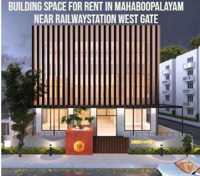 Building space for rent - mahaboopalayam -