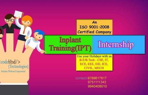Inplant training in chennai for ece