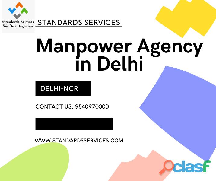 manpower Agency in Delhi