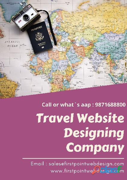 travel website designing company