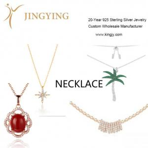 925 sterling silver necklace fine jewelry wholesaler