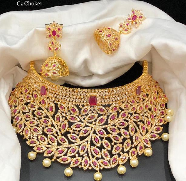 Buy online indian bridal set jewellery from jheaps