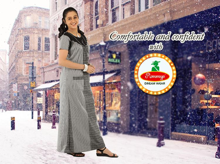 Buy womens branded latest night dress and 100% quality pure
