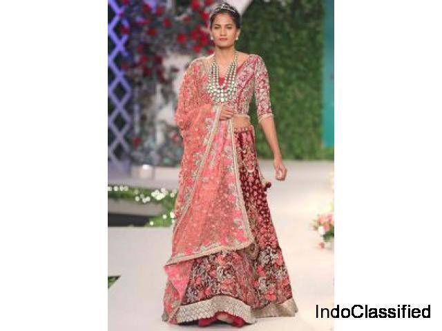 Designer reception lehengas, sarees, gowns, kurta sets –
