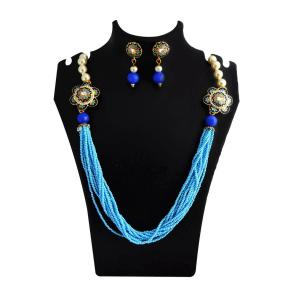 Imitation Kundan Meenakari Jewellery Online from MK Jeweller