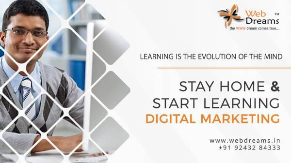 Learn digital marketing with certification - computer