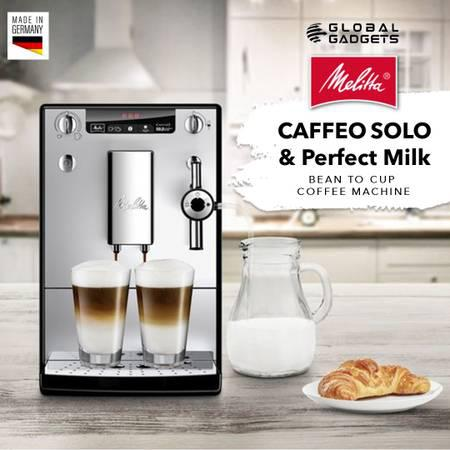 Melitta caffeo solo & perfect milk bean to cup coffee