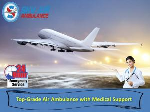 Select secure icu based air ambulance from bagdogra