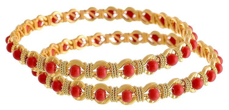 Shop latest fashion handmade bangles online at jheaps